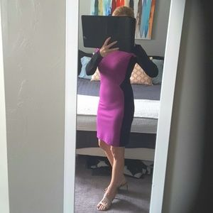 Dress Purple and Black Small